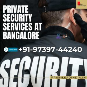 Private Security Services Bangalore