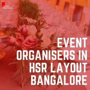 Event Organisers in HSR Layout