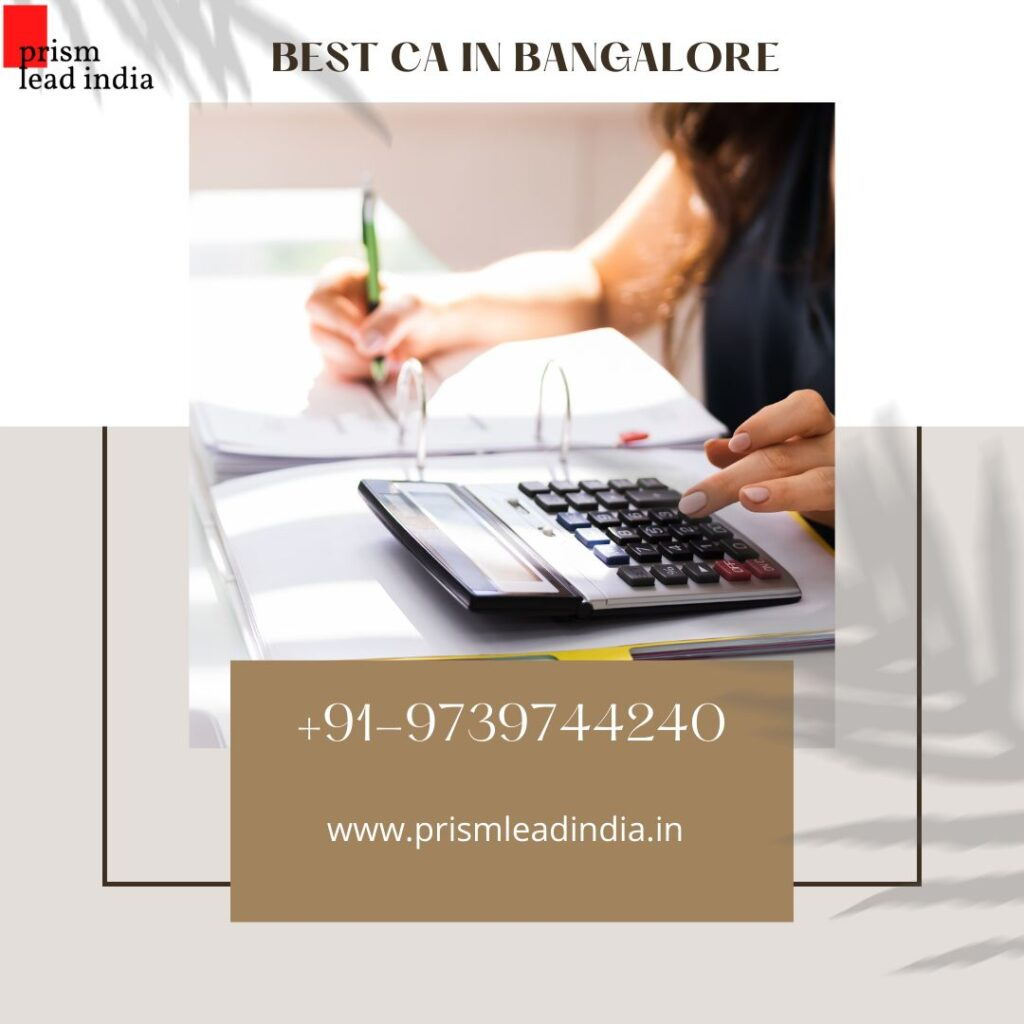 Chartered Accountants in HSR Layout