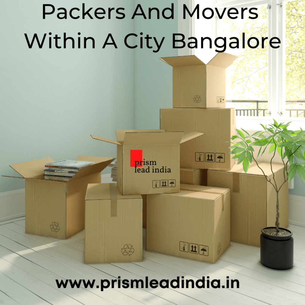 Packers And Movers Within A City